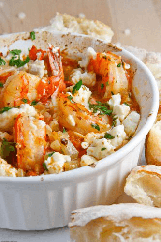 shrimp-saganaki