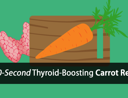 How to Boost Your Thyroid in 60-Seconds with a Carrot