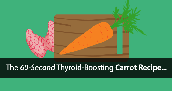 thyroid boosting carrot recipe