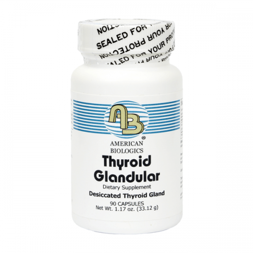 American Biologics Desiccated Thyroid (90 Count)