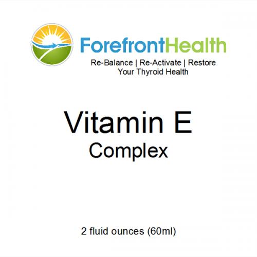 Vitamin E Complex Front Label