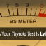 normal thyroid test