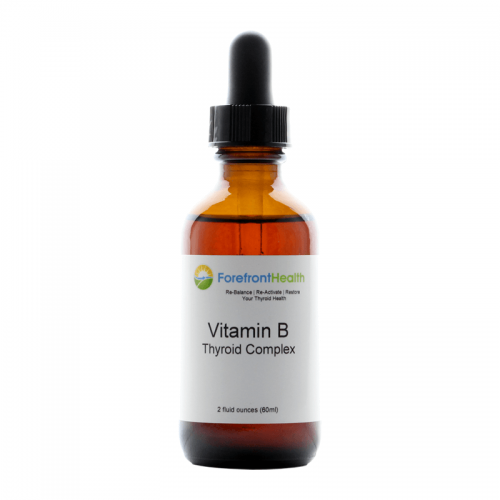Forefront Health Vitamin B Thyroid Complex front label