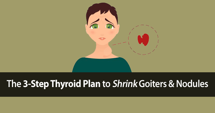 how to shrink goiter thyroid nodules